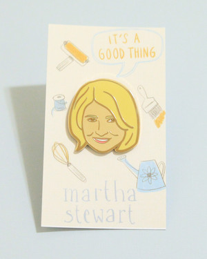 13 Enamel Pins That Any Martha Stewart Fan Would Love