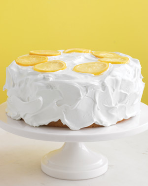 Martha Stewart Upsid Down Lemon Meringue Cake