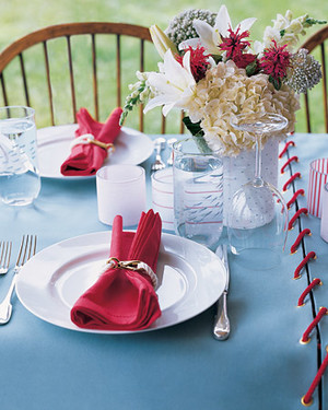 Outdoor Canvas Tablecloth