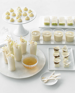 Nine Staples For A White Party Martha Stewart