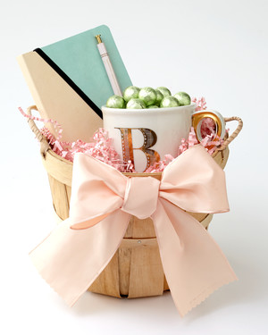 Personalized Easter Baskets with Crafts & Gifts