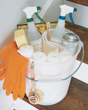 Martha Suggests These 10 Housecleaning Resolutions for the New Year