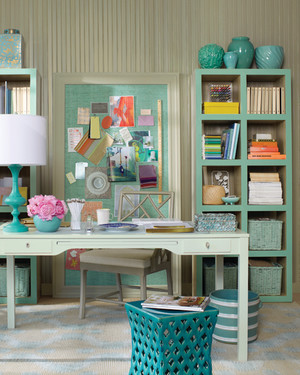 Decorating with Seaside Shades
