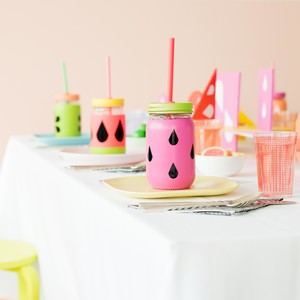 fruit party tablescape