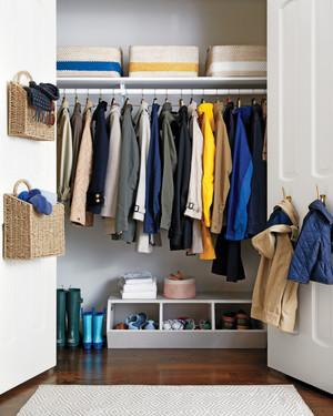 Declutter The Coat Closet