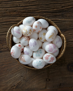 Colorful and Quick Decal Eggs