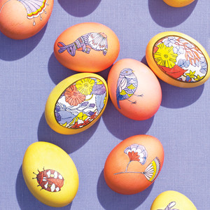 More Ideas for Decorating Easter Eggs