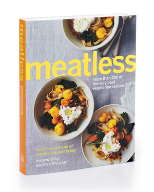 "Sneak Peek of ""Meatless,"" our Newest Cookbook"