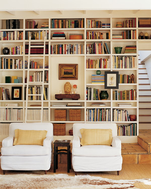 Real Page-Turners: Our Favorite Bookshelf Organizing Ideas