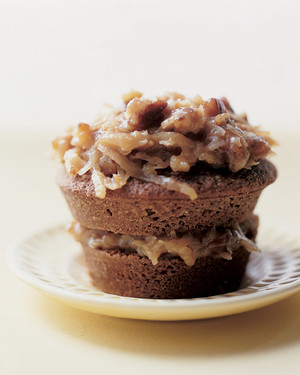 German Chocolate Cupcakes Recipe | Martha Stewart