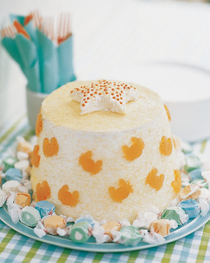 Sand Bucket Angel Food Cake Recipe Martha Stewart