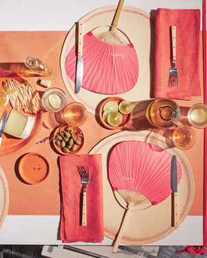 Shades of Red: Summer Party Decorations