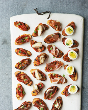 A Sneak Peek of Martha Stewart's Appetizers