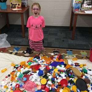 This 9-Year-Old is Turning Bottle Caps Into Benches For a Cause