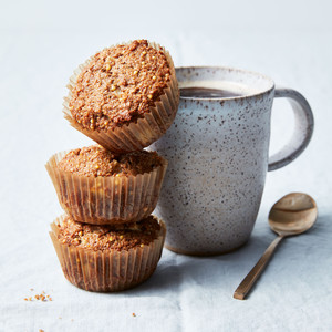 Double-Apple Bran Muffins