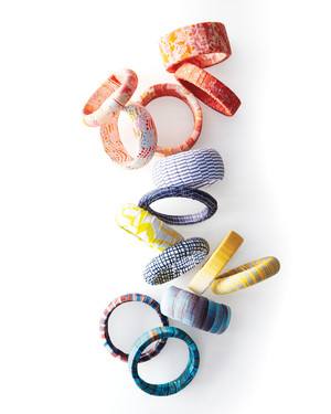 DIY Bangle Bracelets You Can Bang Out In No Time