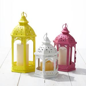 Martha Stewart DIY Painted Outdoor Lanterns