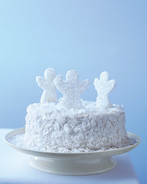 Coconut angel food cake recipe martha stewart coconut angel food cake forumfinder Images