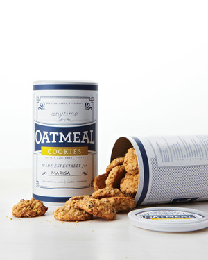 Anytime Oatmeal Cookies