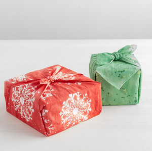 Painted Fabric Gift Wrap