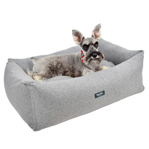 Martha Stewart Tweed Pet Bed