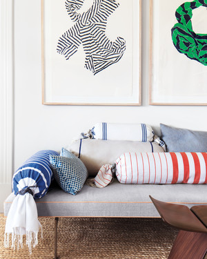 Home Decor Ideas 13 Ways to Use Stripes & Fun and Easy Decorating Ideas | Martha Stewart