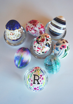 Nail-Art Easter Eggs! Egg Decorating with Some Serious Polish