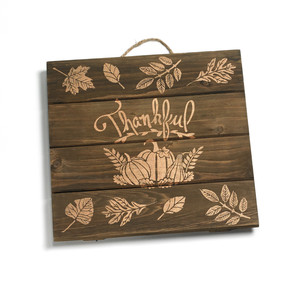 Stenciled Wooden Sign