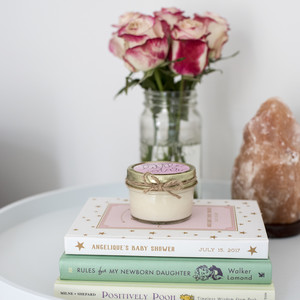 nursery-flowers-candle
