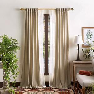 Switch to Heavier Window Coverings