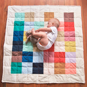 Hey Baby Craft Co. Patchwork Baby Quilt