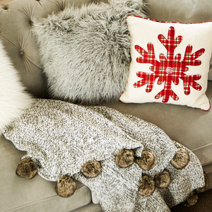 Martha Stewart Collection Throws