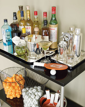 How to Set Up and Stock a Home Bar | Martha Stewart