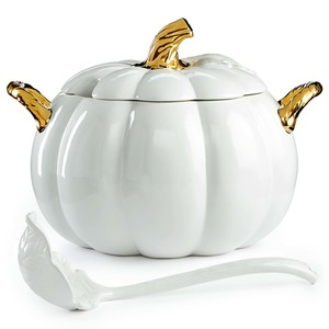 Martha Stewart Collection Harvest Pumpkin Soup Tureen