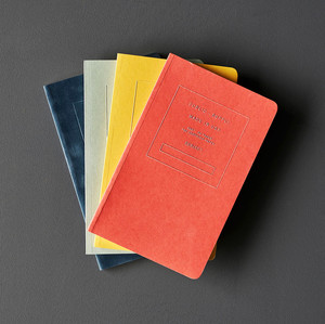 embossed notebooks product