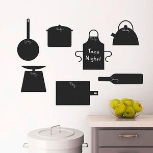 Chalkboard Kitchen Menu Decals