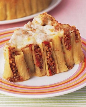 Baked Ziti With Ground Beef Recipe Martha Stewart