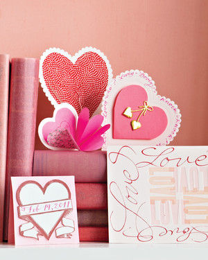 14 Valentine's Day Cards with Clip-Art and Templates