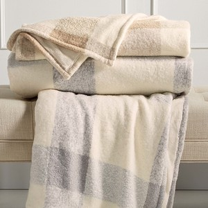 Martha Stewart Collection Faux Mohair Throw