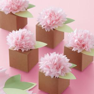 Pom Pom Flower Box