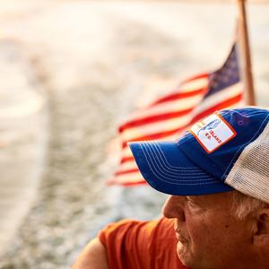 david johnson boat flag