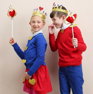 king and queen of hearts costumes