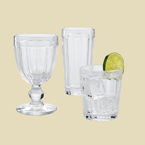 Martha Stewart Collection La Dolce Vita Glassware