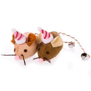 Martha Stewart Pets Holiday Mice Cat Toy
