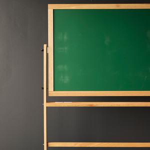 wooden reversible chalkboard product