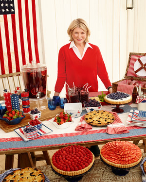Everything You Need to Host a Red, White, and Blue Bash