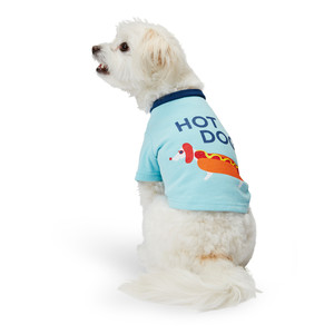 Martha Stewart Pets Hot Dog Tee