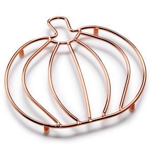 Martha Stewart Collection Copper Wire Pumpkin Trivet