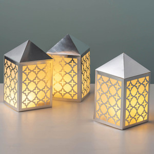 Geometric Lattice Luminaria