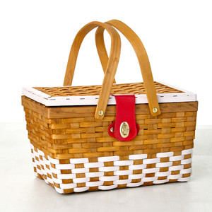 Painted Picnic Baskets
